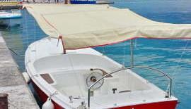 Cruising on a small ship Budva