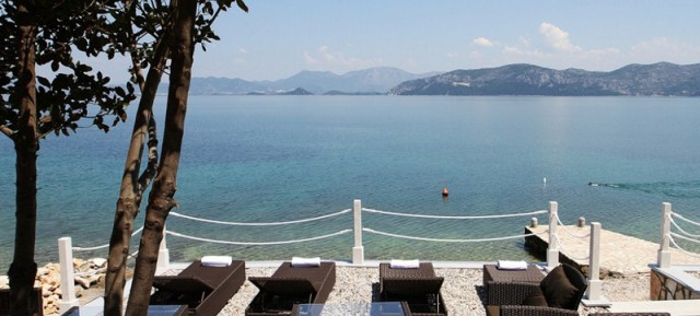 Exclusive Adriatic Beachfront villa Private beach Private swimming pool