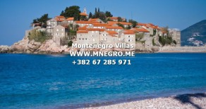 VIP Montenegro Exclusive MONTENEGRO Villa Directly On The Beach St Stefan