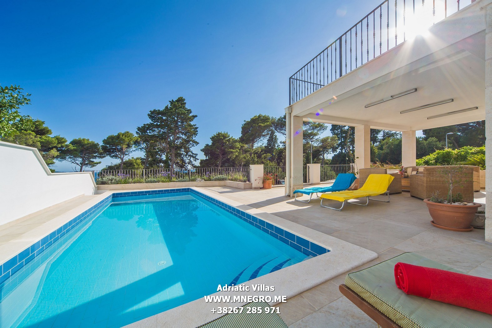 Cro601 dubrovnik 5 bedroom luxury villa with pool for 5 bedroom house with pool